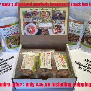 Nana's Quarterly Breakfast & Snack Box Photo
